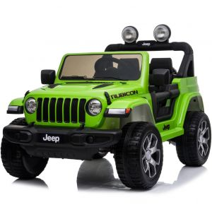 Jeep Elektro Kinderauto Wrangler Rubicon Grün