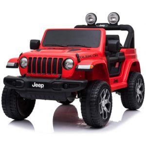 Jeep Elektro Kinderauto Wrangler rot