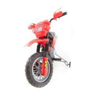 Kijana Dirt Bike roter Lenker vorne