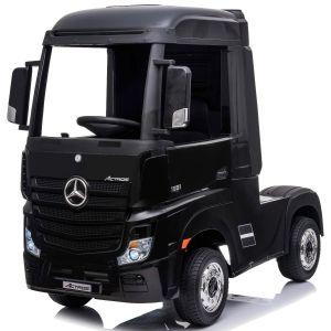 Mercedes Elektro Kinderauto Actros schwarz