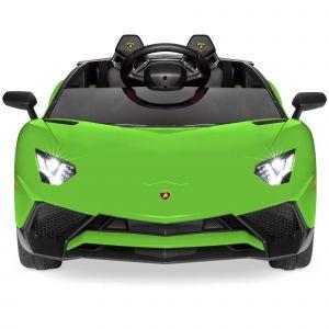 Lamborghini elektrisches Kinderauto grün
