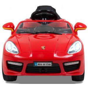 Speedster Kinderauto rote Scheinwerfer