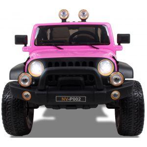 Kijana Jeep Plus Kinderauto 2 Sitzplätze rosa