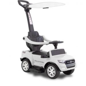 Ford Walking Auto mit Sonnenschutz Ranger weiß