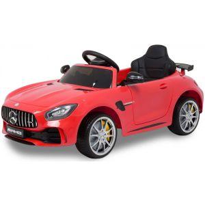 Mercedes Elektro Kinderauto GTR AMG rot