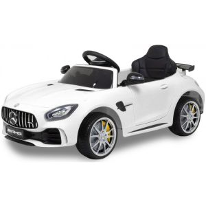 Mercedes Elektro Kinderauto GTR AMG weiß