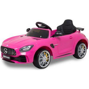Mercedes Elektro Kinderauto GTR rosa