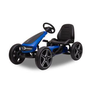 Mercedes Go-Kart blau