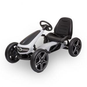 Mercedes Go-Kart weiß