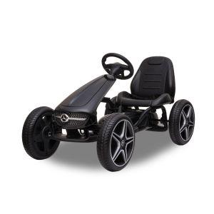Mercedes Go-Kart schwarz