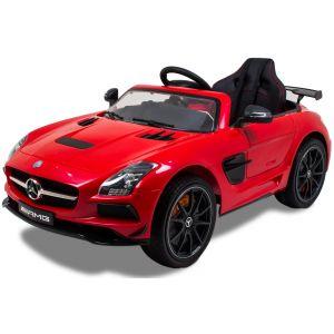 Mercedes Elektro Kinderauto AMG SLS rot