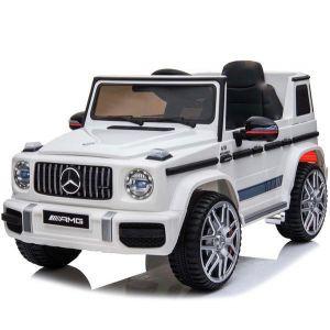 Mercedes Elektro Kinderauto G63 Sport Cabrio weiß