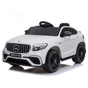 Mercedes Elektro Kinderauto GLC Coupé weiß