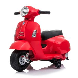 Mini Vespa Elektro Kinderroller rot