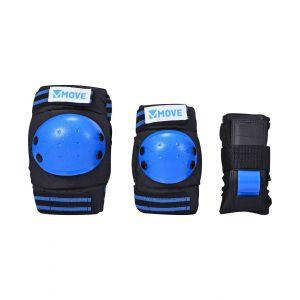 Move Skateschutz 3-teilig blau