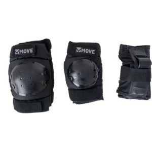 Move Skateschutz 3-teilig schwarz