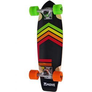 Move skateboard Cruiser neon