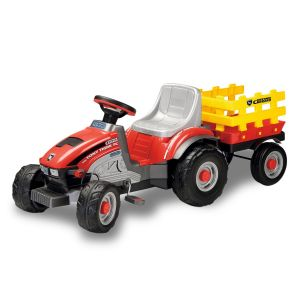 Peg Perego Traktor mit Pedalen Mini Tony Tigre