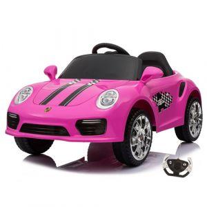 Kijana Elektro Kinderauto Porsche Stil rosa