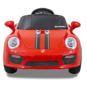 Kijana elektrisches Kinderauto Porsche Stil rot