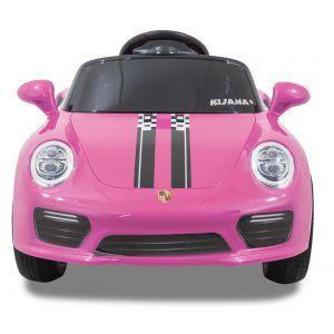 Kijana elektrisches Kinderauto Porsche Stil rosa