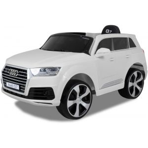 Audi Elektro Kinderauto Q7 weiß