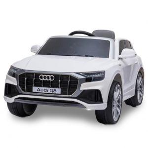 Audi Elektro Kinderauto Q8 weiß