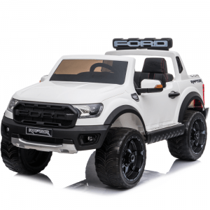 Ford Elektro Kinderauto Raptor weiß