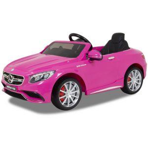 Mercedes Elektro Kinderauto S63 AMG rosa