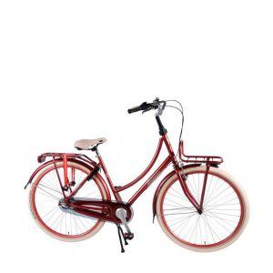 Salutoni Excellent Citybike 28 Zoll 50 Zentimeter Bordeaux 95% Zusammengebaut