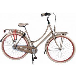 SALUTONI Excellent Citybike - Damen - 28 Zoll - 50 Zentimeter - Sand - Shimano Nexus 3 Gänge - 95% montiert