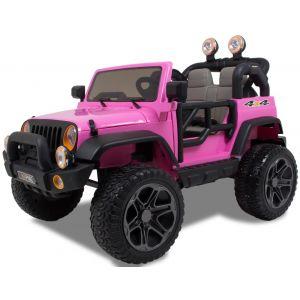 Kijana Jeep Plus Elektro Kinderauto 2 Sitzplätze rosa