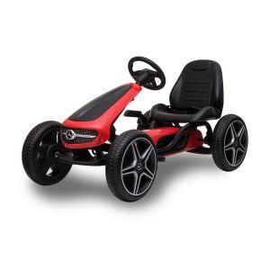 Mercedes Go-Kart rot