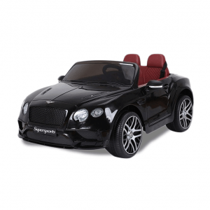 Bentley Elektro Kinderauto Continental Supersports schwarz