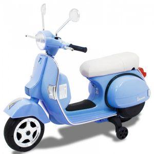 Vespa Elektro Kinderroller blau