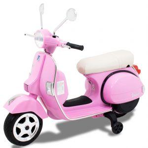 Vespa Elektro Kinderroller rosa