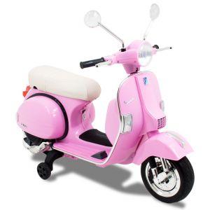 Vespa Elektro Kindermotorroller rosa