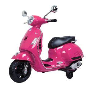 Vespa Elektro Kinderroller GTS rosa