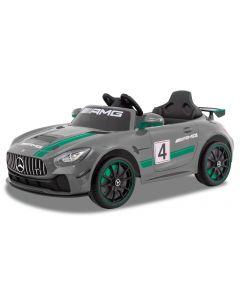 Mercedes Elektro Kinderauto GT4 grau
