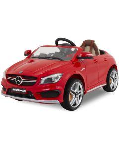 Mercedes Elektro Kinderauto CLA45 AMG rot