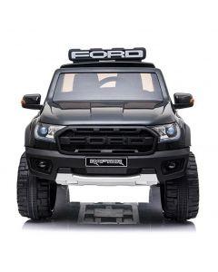 Polizei Ford Elektro Kinderauto Raptor schwarz