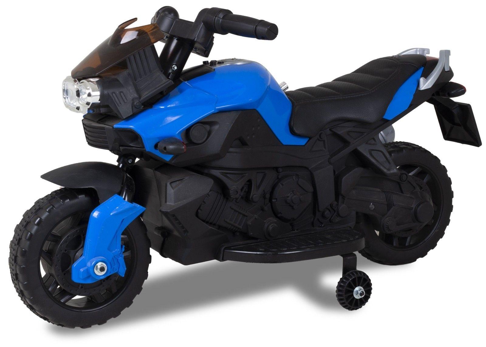 Kijana Elektro Kindermotorrad blau