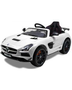 Mercedes Elektro Kinderauto AMG SLS weiß