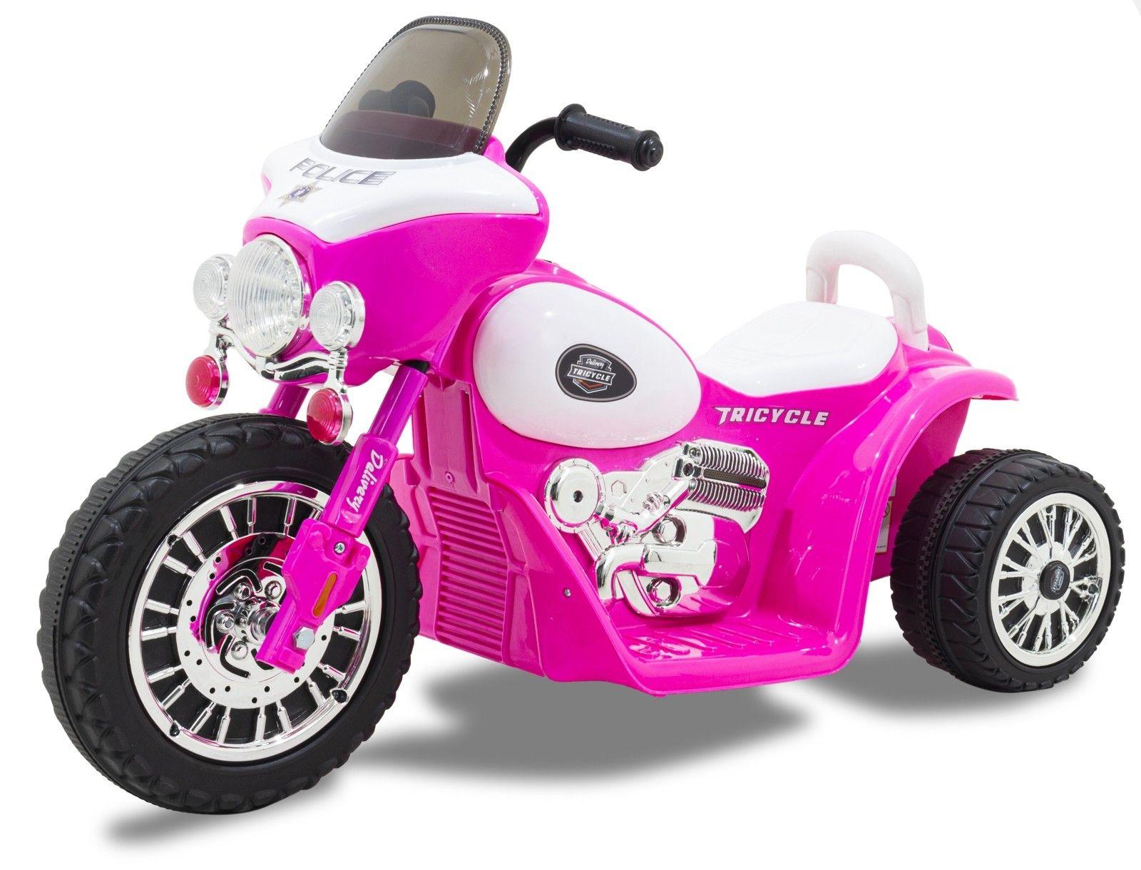 Kijana Elektro Kindermotorrad 'Wheely' Rosa